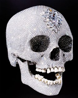 How is research training like a diamond-encrusted skull?