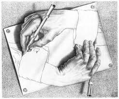 hand draws itself